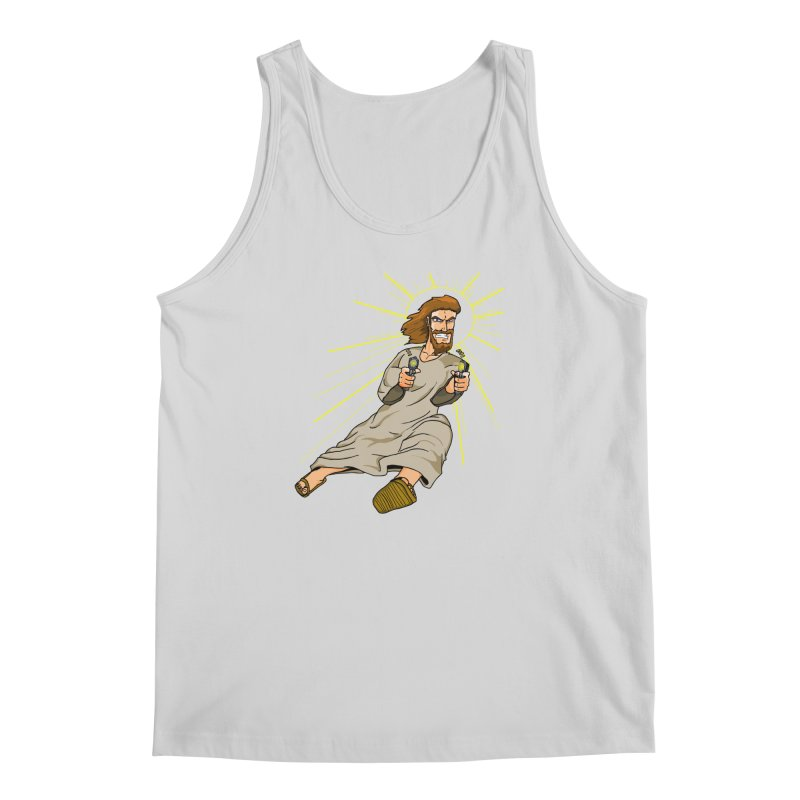 Dead or alive you're coming with me Men's Regular Tank by Bigger Than Cheeses