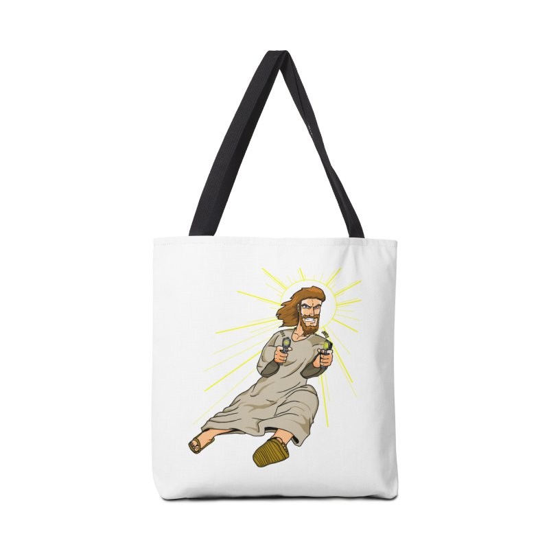 Dead or alive you're coming with me Accessories Bag by Bigger Than Cheeses
