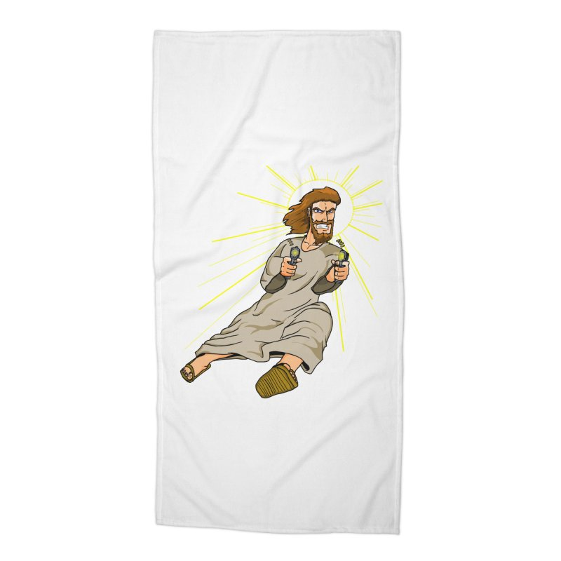 Dead or alive you're coming with me Accessories Beach Towel by Bigger Than Cheeses