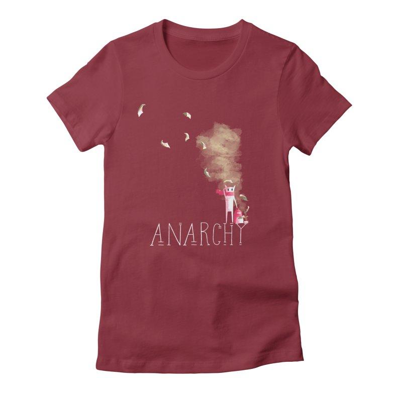 Little Vandal Women's Fitted T-Shirt by btsai's Artist Shop