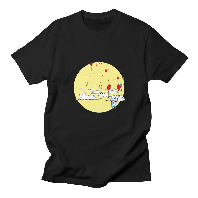 b4lloonc4ts Men's T-Shirt by btsai's Artist Shop