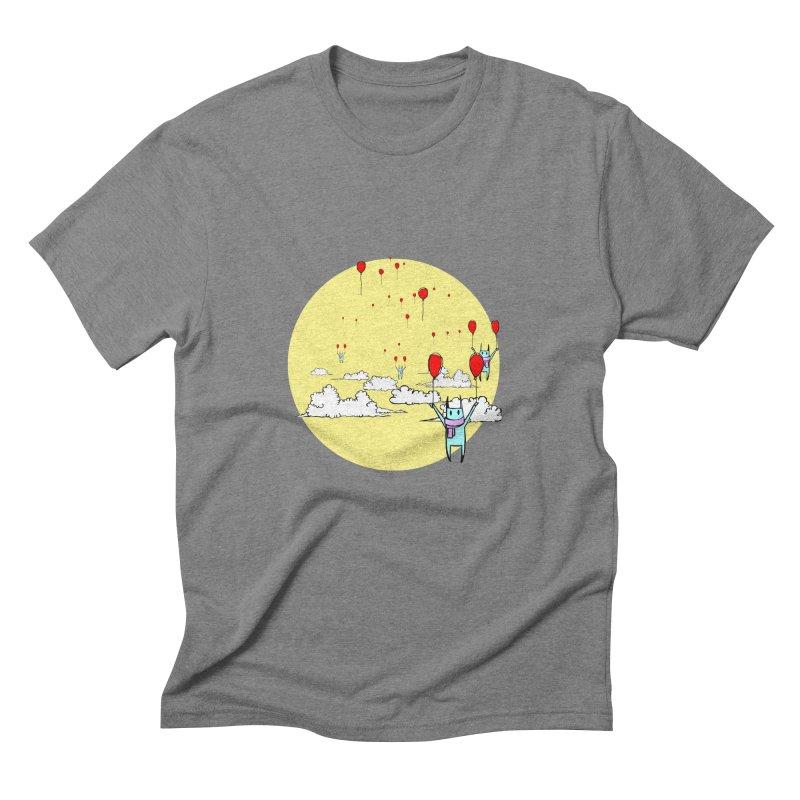 b4lloonc4ts Men's Triblend T-Shirt by btsai's Artist Shop