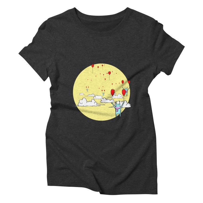 b4lloonc4ts Women's Triblend T-Shirt by btsai's Artist Shop