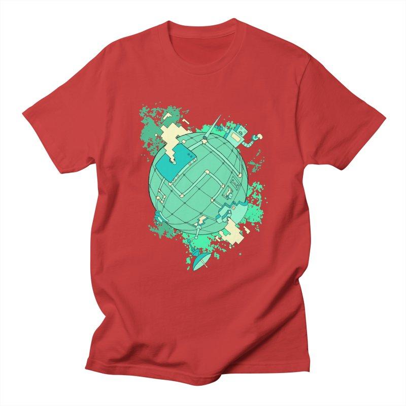 Modern World Men's T-Shirt by btsai's Artist Shop
