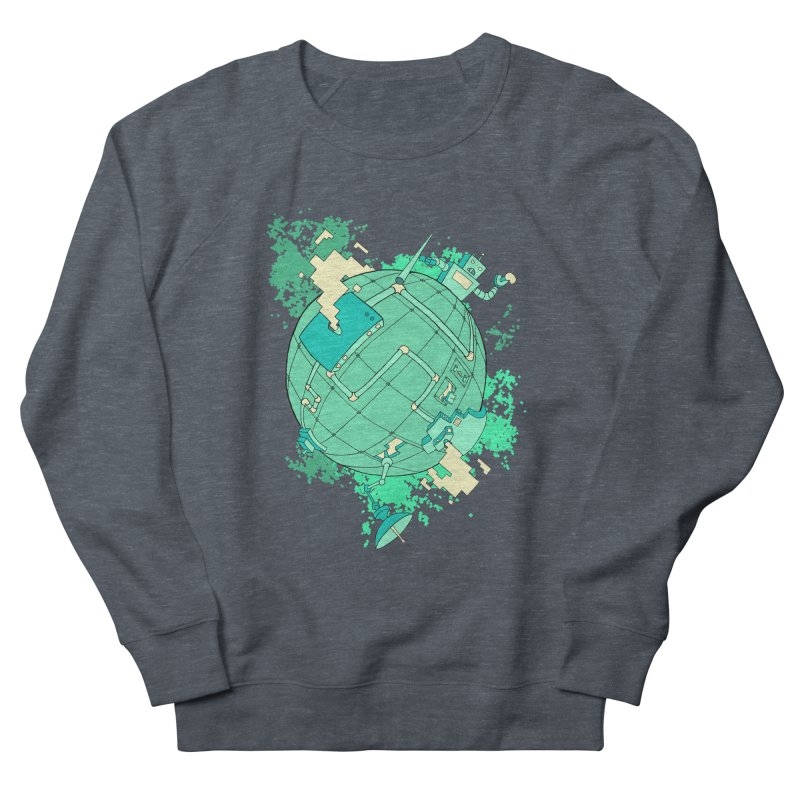 Modern World Women's Sweatshirt by btsai's Artist Shop