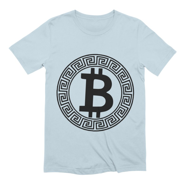 Bitcoin Men's T-Shirt by Beneath The Surface Tattoos