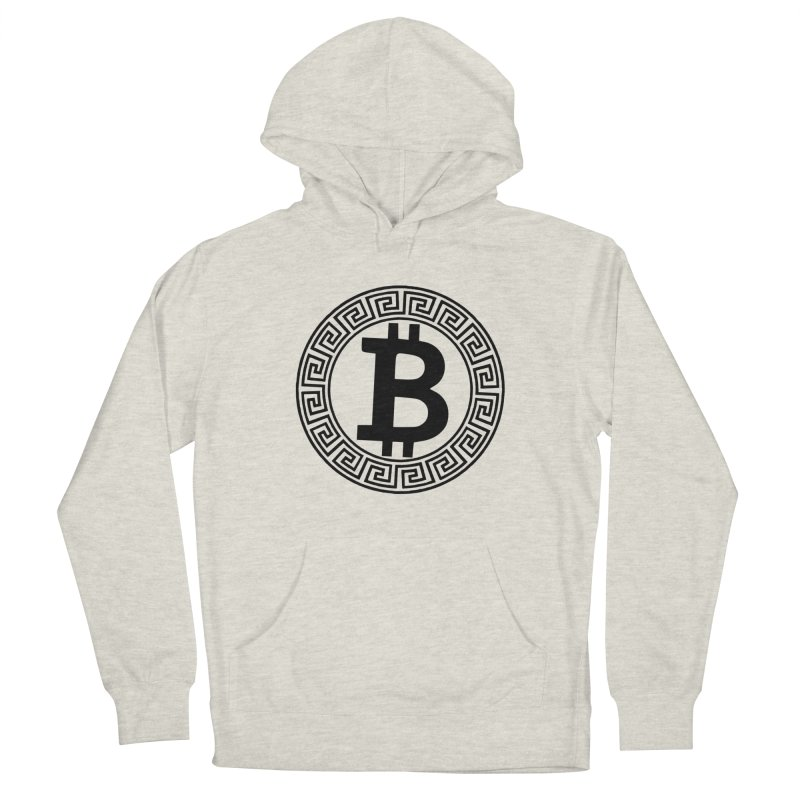 Bitcoin Men's Pullover Hoody by Beneath The Surface Tattoos