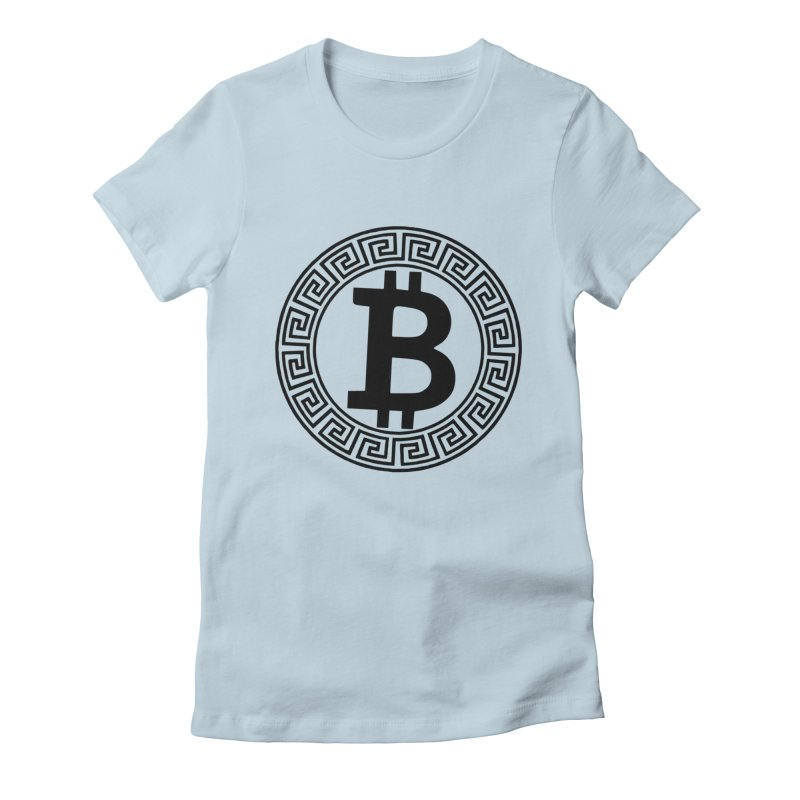 Bitcoin Women's T-Shirt by Beneath The Surface Tattoos