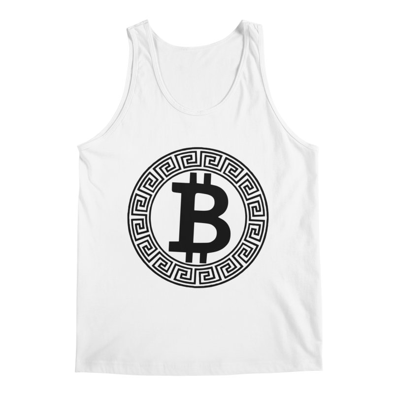 Bitcoin Men's Tank by Beneath The Surface Tattoos