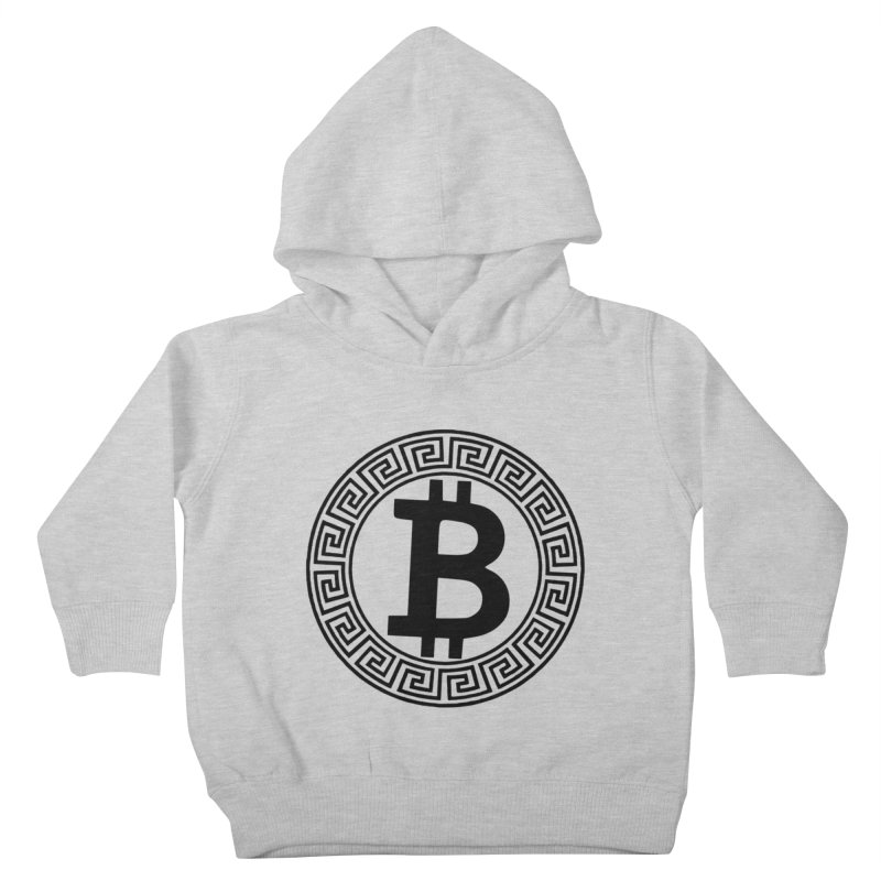 Bitcoin Kids Toddler Pullover Hoody by Beneath The Surface Tattoos