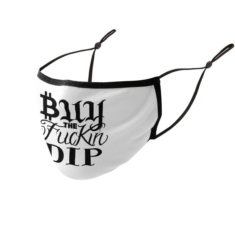 Buy The Fu*kin Dip Accessories Face Mask by Beneath The Surface Tattoos