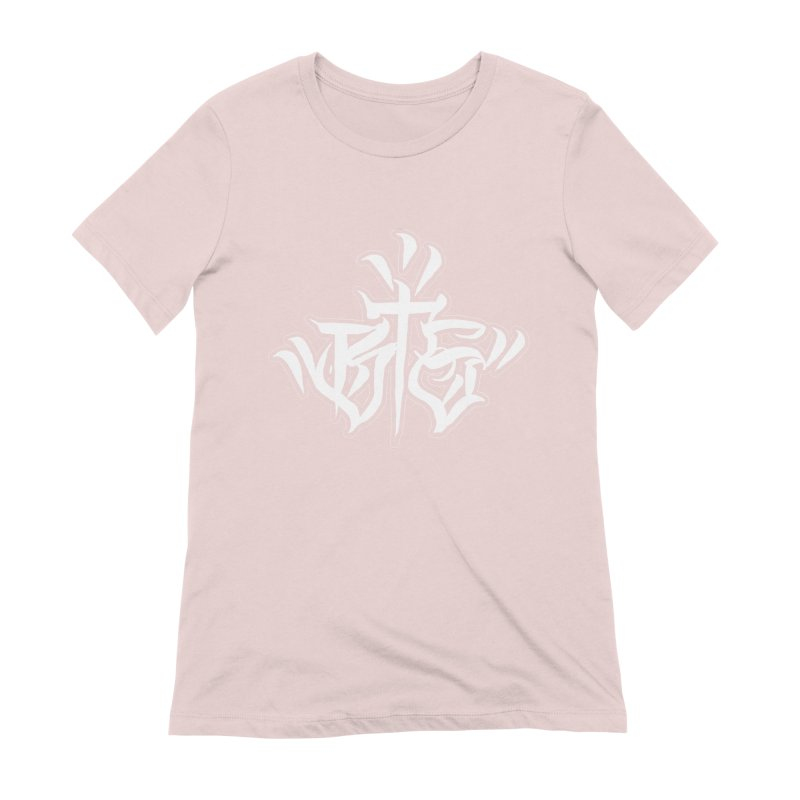 BTS White Print Women's T-Shirt by Beneath The Surface Tattoos