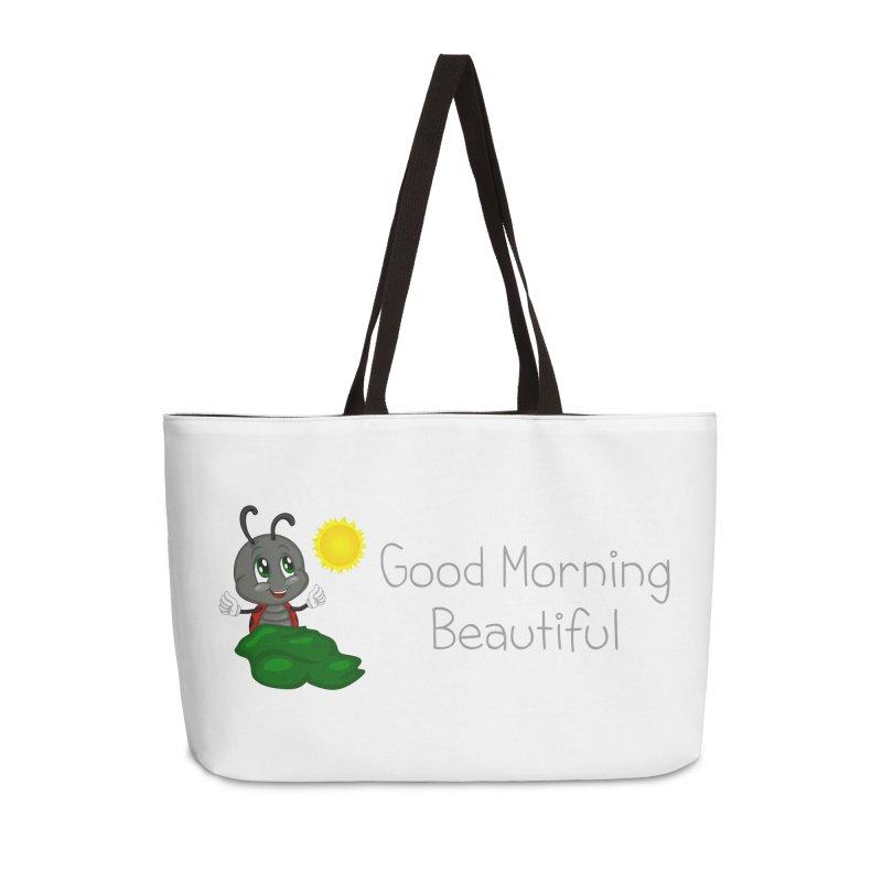 Ladybird Good Morning Beautiful Accessories Weekender Bag Bag by BubaMara's Artist Shop