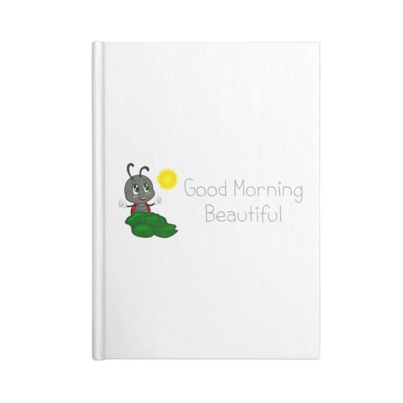 Ladybird Good Morning Beautiful Accessories Lined Journal Notebook by BubaMara's Artist Shop