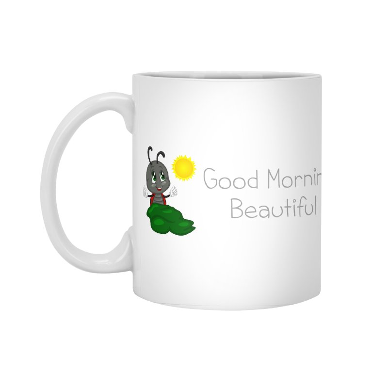 Ladybird Good Morning Beautiful Accessories Standard Mug by BubaMara's Artist Shop