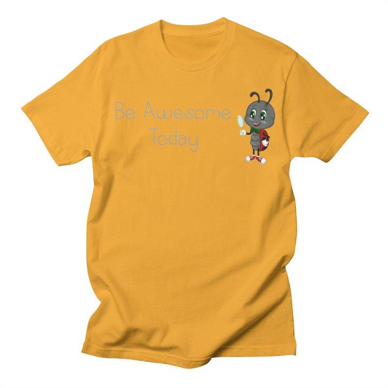 Ladybird Be Awesome Today Women's Regular Unisex T-Shirt by BubaMara's Artist Shop