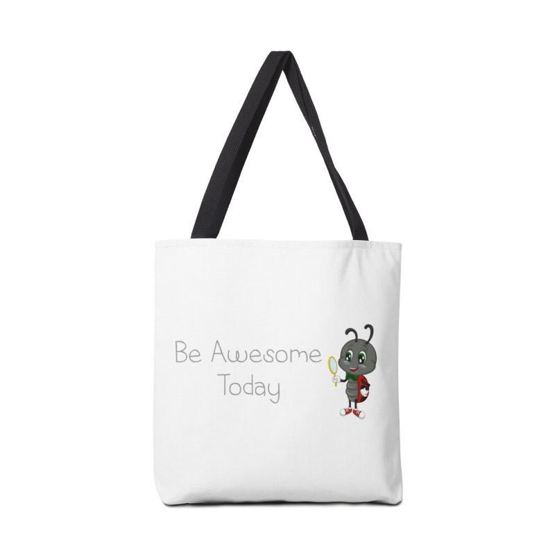 Ladybird Be Awesome Today Accessories Tote Bag Bag by BubaMara's Artist Shop