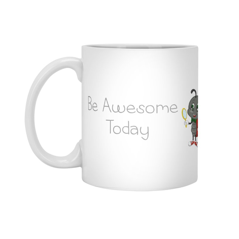 Ladybird Be Awesome Today Accessories Standard Mug by BubaMara's Artist Shop