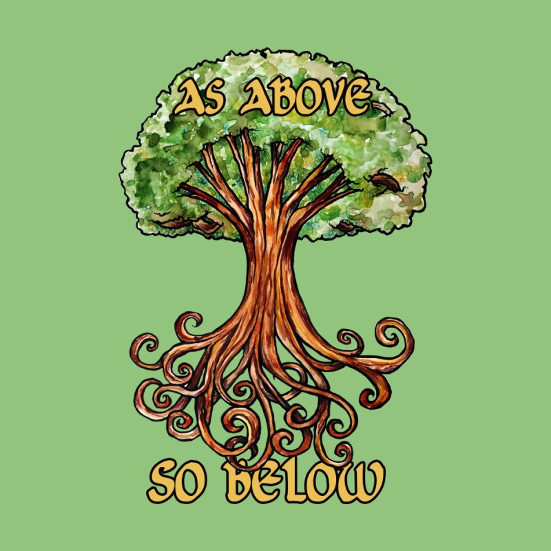 As above so below Men's Tank by BubbSnugg