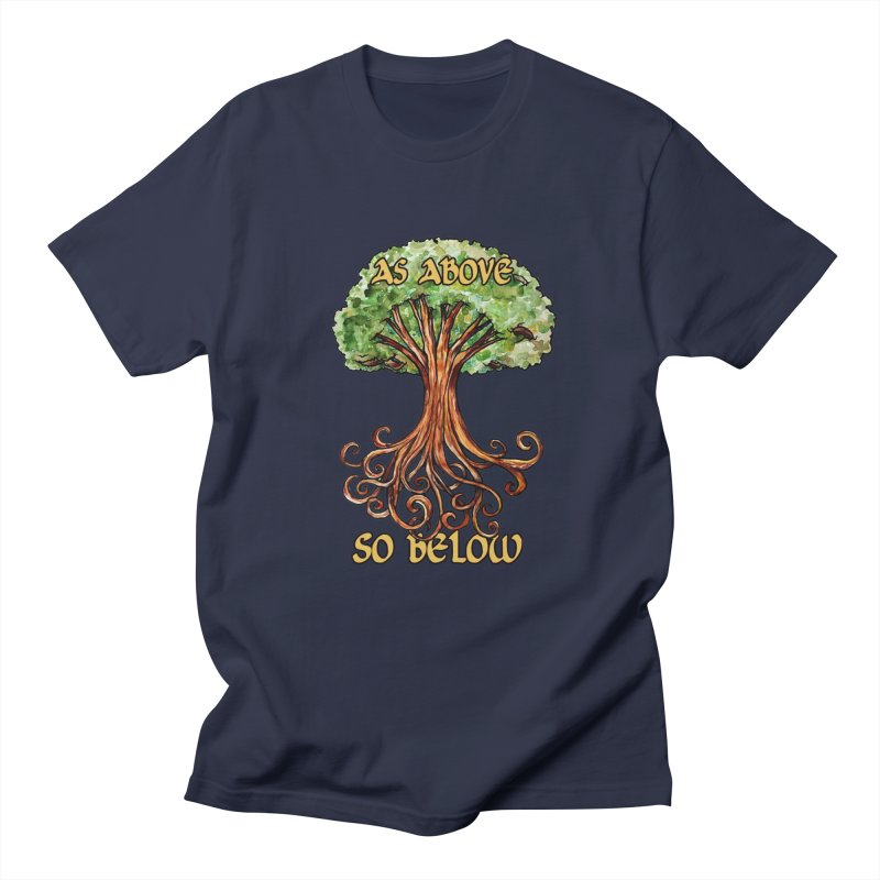 As above so below Men's T-Shirt by BubbSnugg