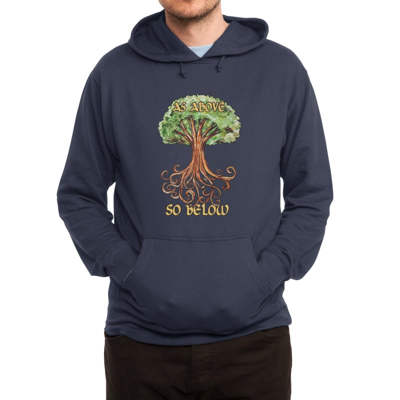 As above so below Men's Pullover Hoody by BubbSnugg