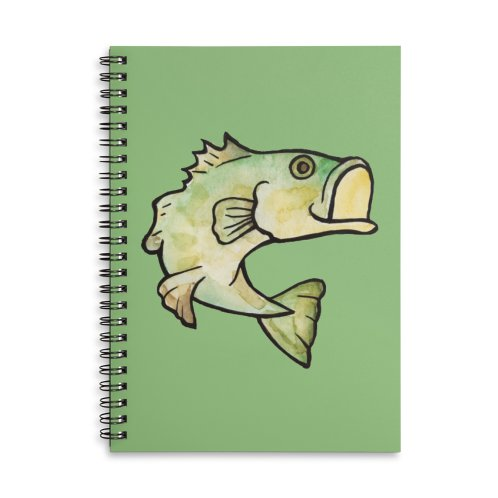 image for Watercolor largemouth bass