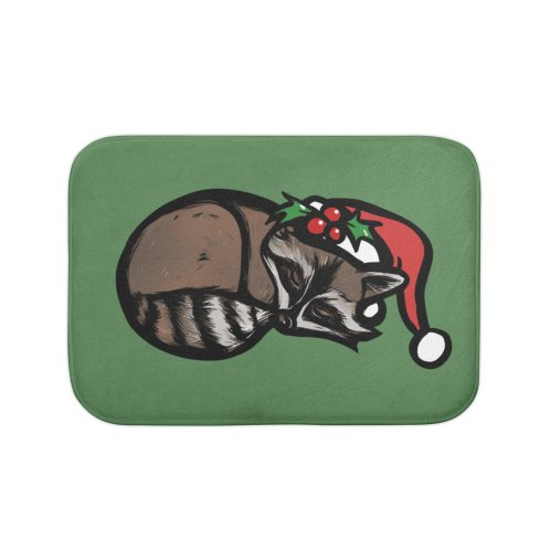image for Cute Christmas Raccoon