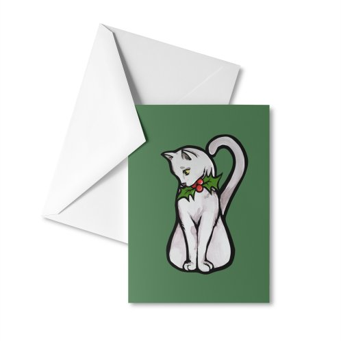 image for Christmas White Cat