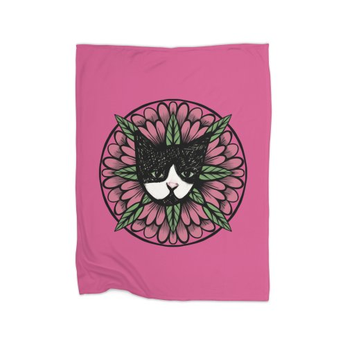 image for Tuxedo Cat Floral