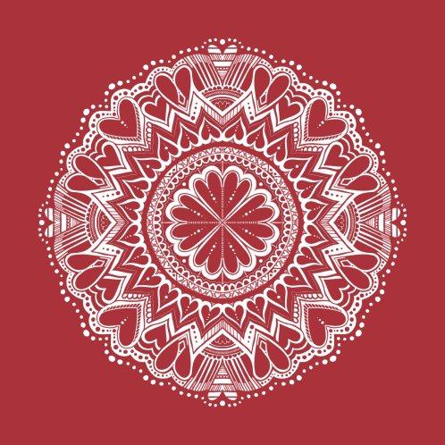 Design for Heart Love Mandala Valentine
