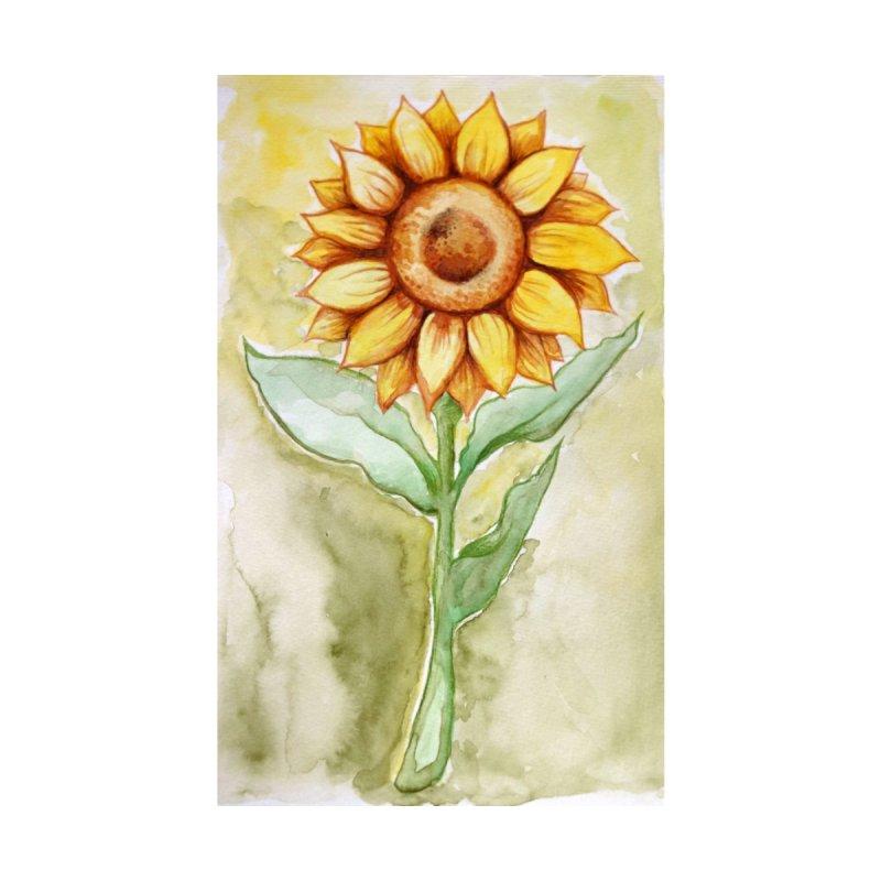 Sunflower Home Fine Art Print by BubbSnugg