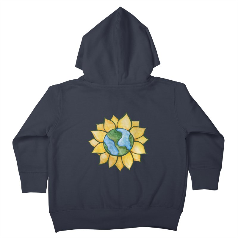 Sunflower Earth Kids Toddler Zip-Up Hoody by BubbSnugg