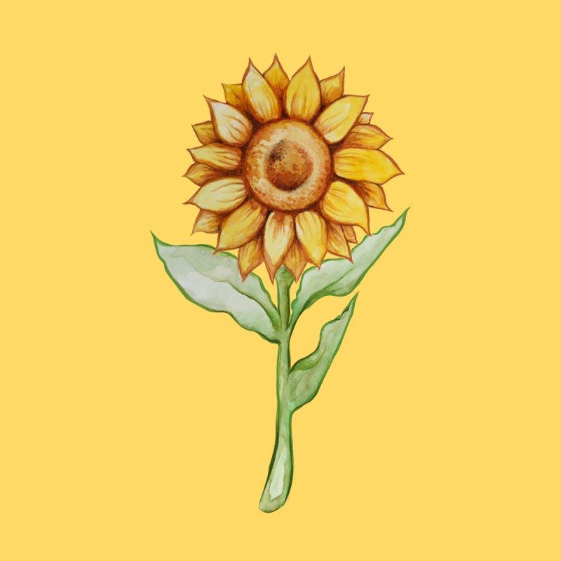 Sunflower Women's T-Shirt by BubbSnugg