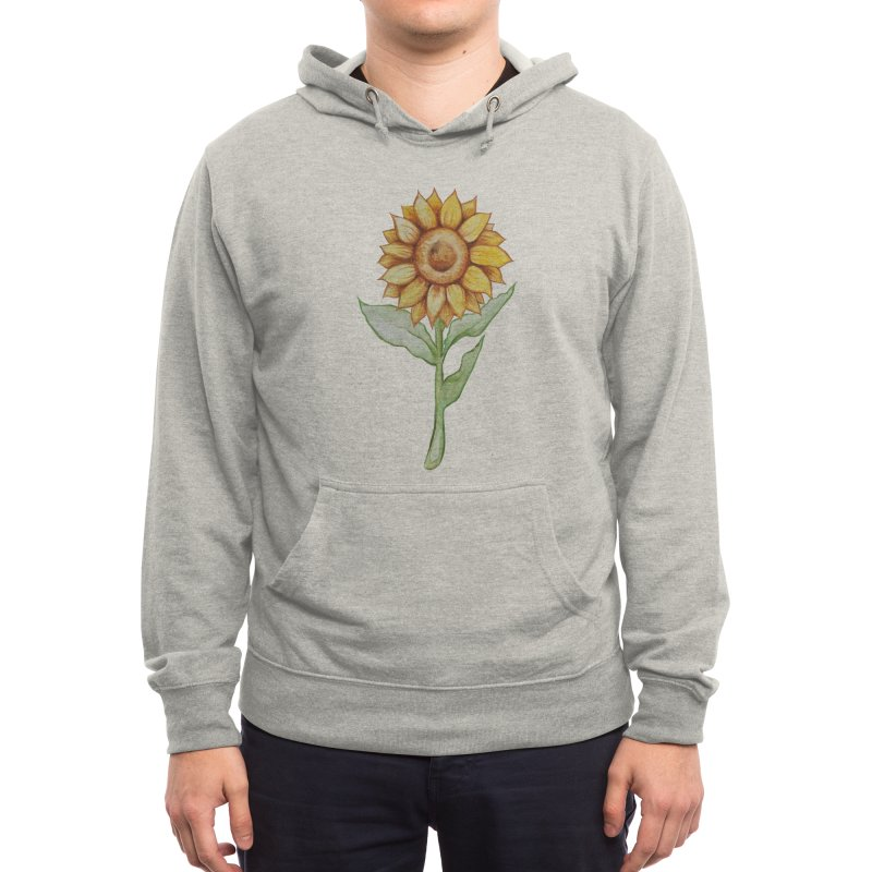 Sunflower Men's Pullover Hoody by BubbSnugg