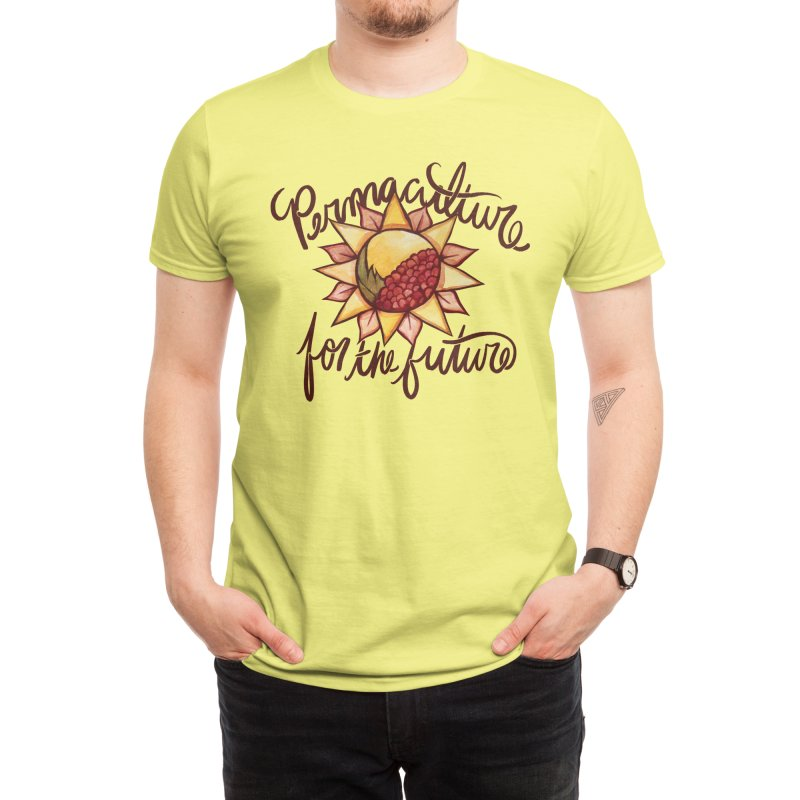 Permaculture for the future Men's T-Shirt by BubbSnugg