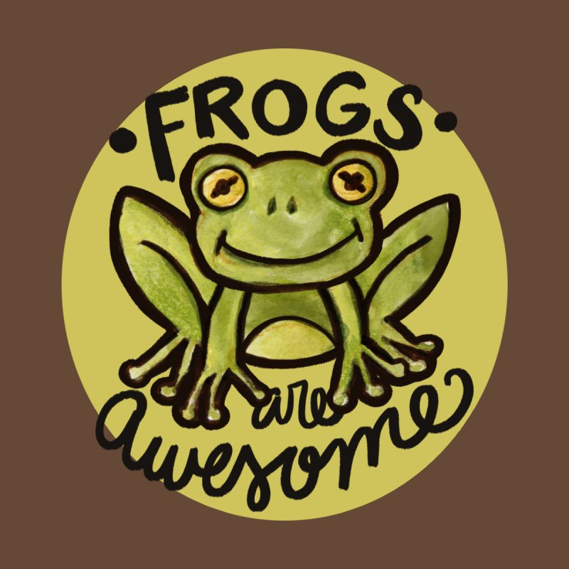 Frogs are awesome Home Rug by BubbSnugg