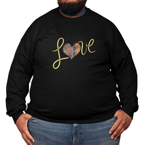 image for LOVE rainbow heart