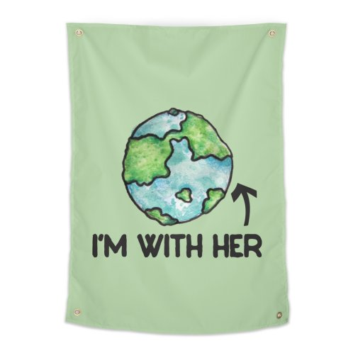 image for I'm with her earth day