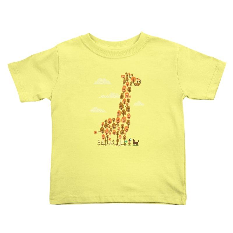 How Tall (High) Can U Grow Kids Toddler T-Shirt by bubusam's Artist Shop