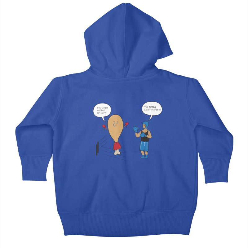 11 year old Hidayah's First Tee Kids Baby Zip-Up Hoody by Buckeen