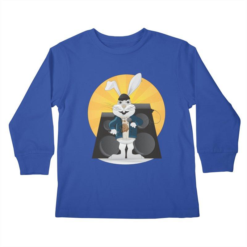 Lose Yourself Kids Longsleeve T-Shirt by Buckeen