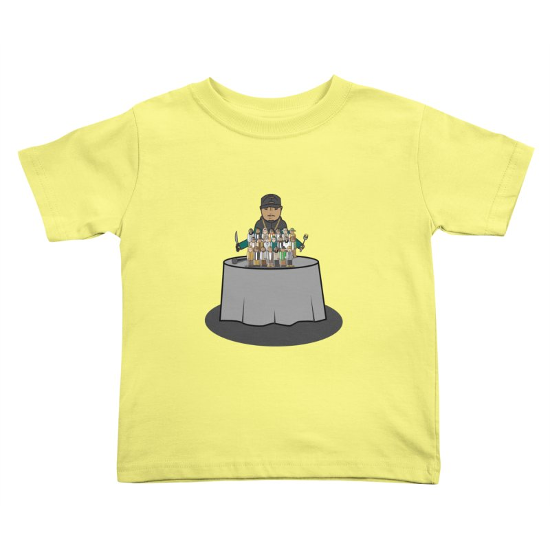 21 Rappers Kids Toddler T-Shirt by Buckeen
