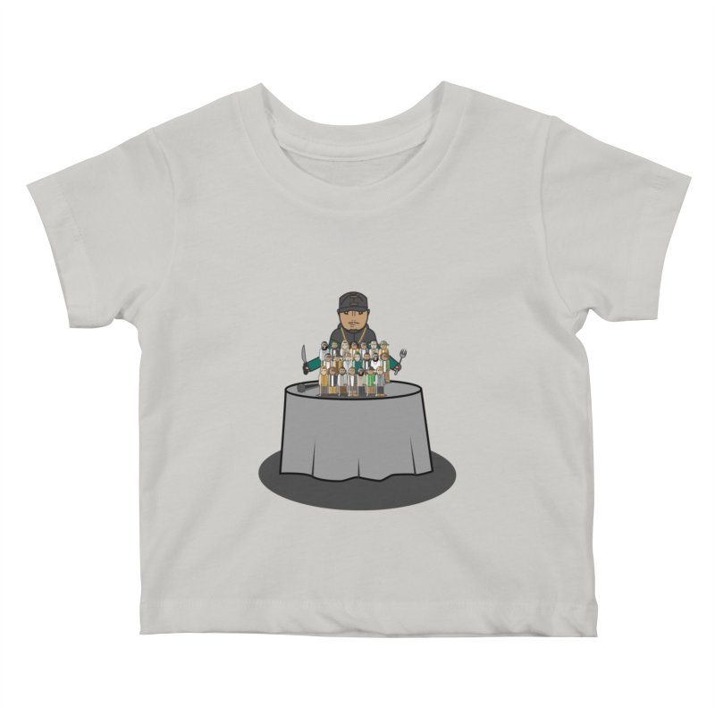 21 Rappers Kids Baby T-Shirt by Buckeen