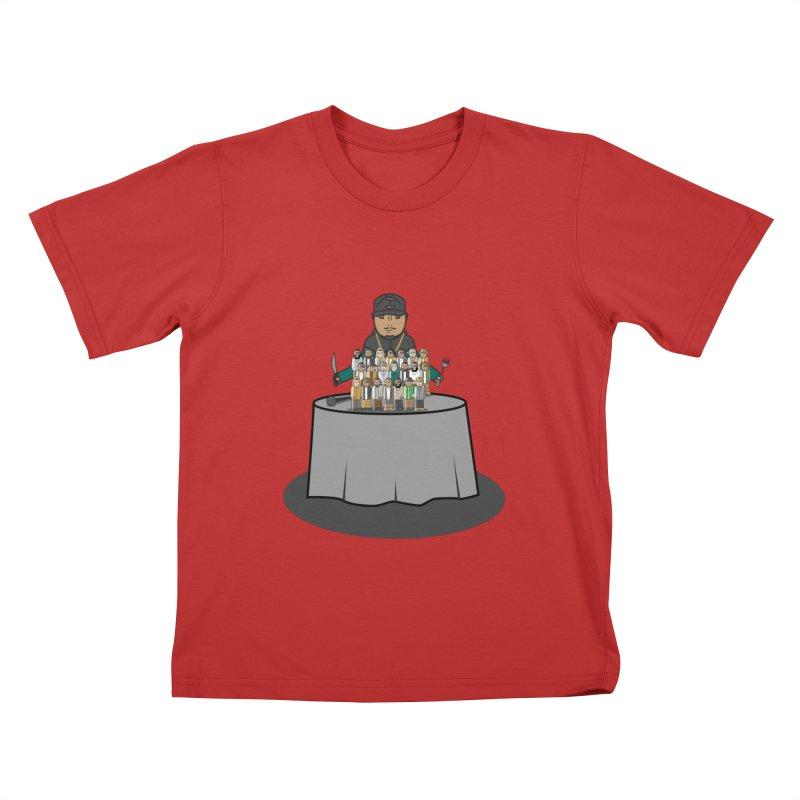 21 Rappers Kids T-shirt by Buckeen
