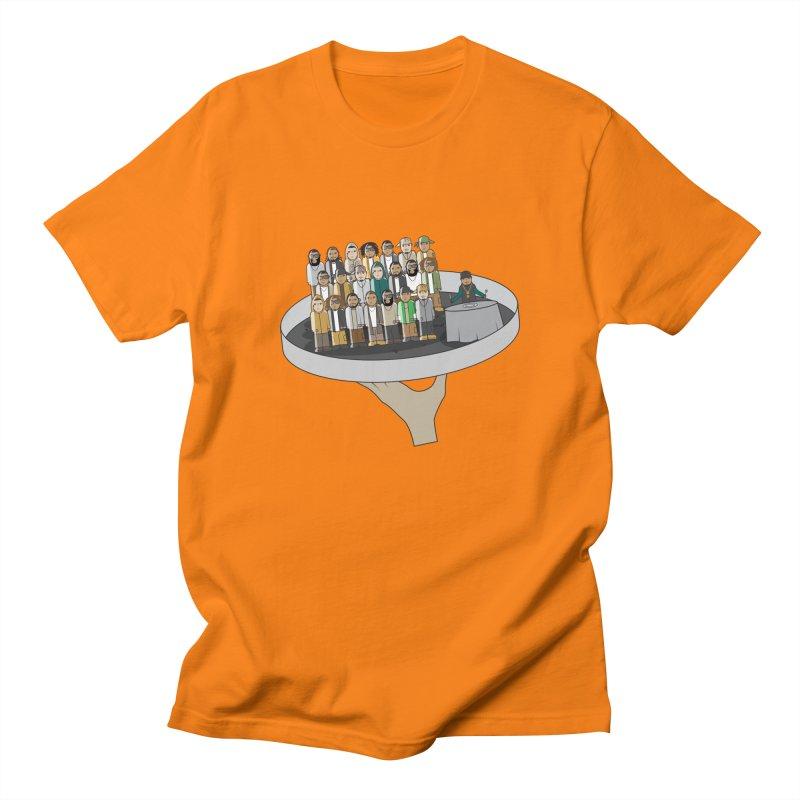 Line 'Em Up! Men's T-Shirt by Buckeen