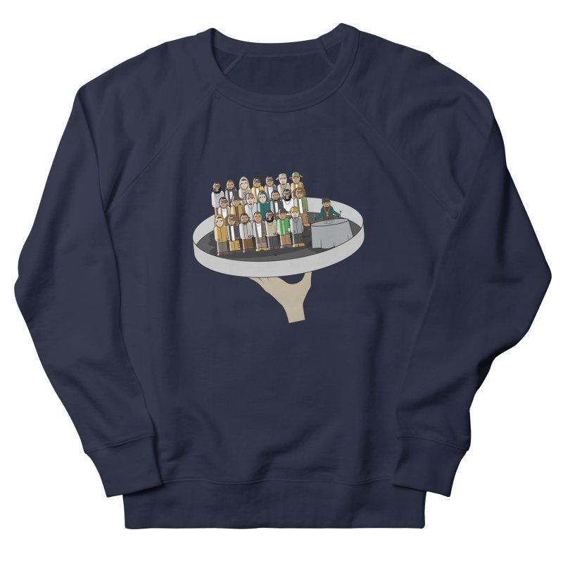 Line 'Em Up! Men's Sweatshirt by Buckeen