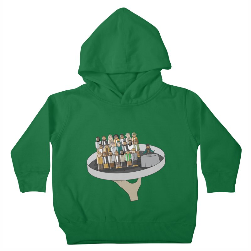 Line 'Em Up! Kids Toddler Pullover Hoody by Buckeen