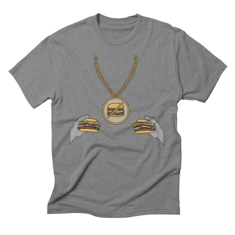 F da Big Mac! Men's Triblend T-shirt by Buckeen