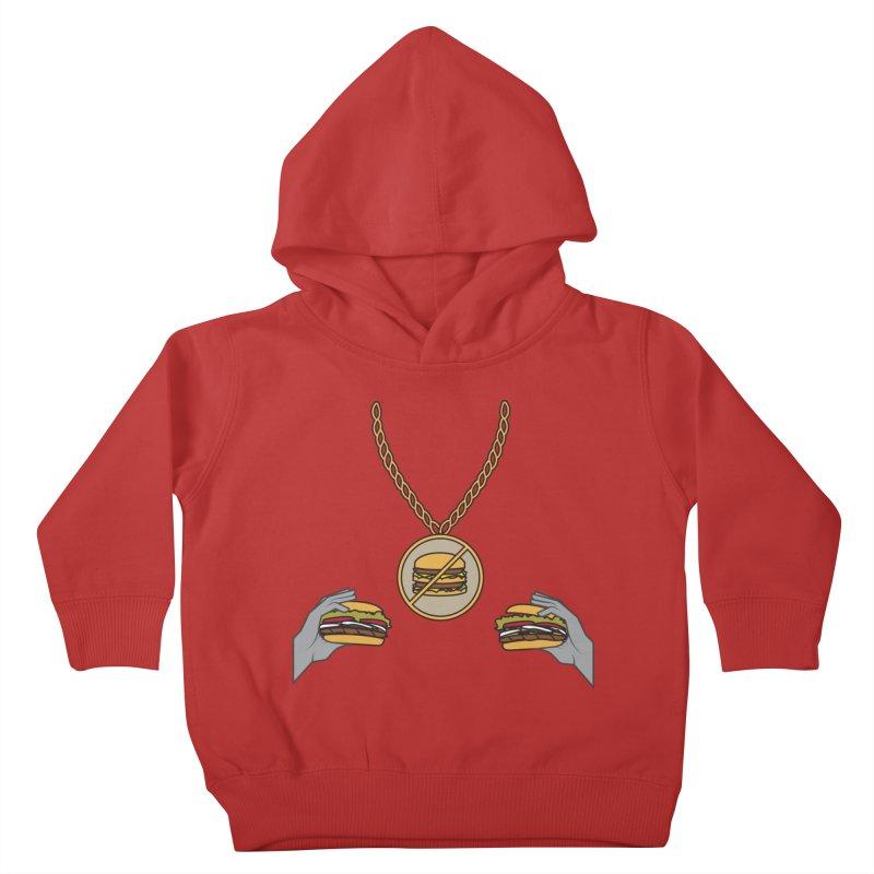 F da Big Mac! Kids Toddler Pullover Hoody by Buckeen