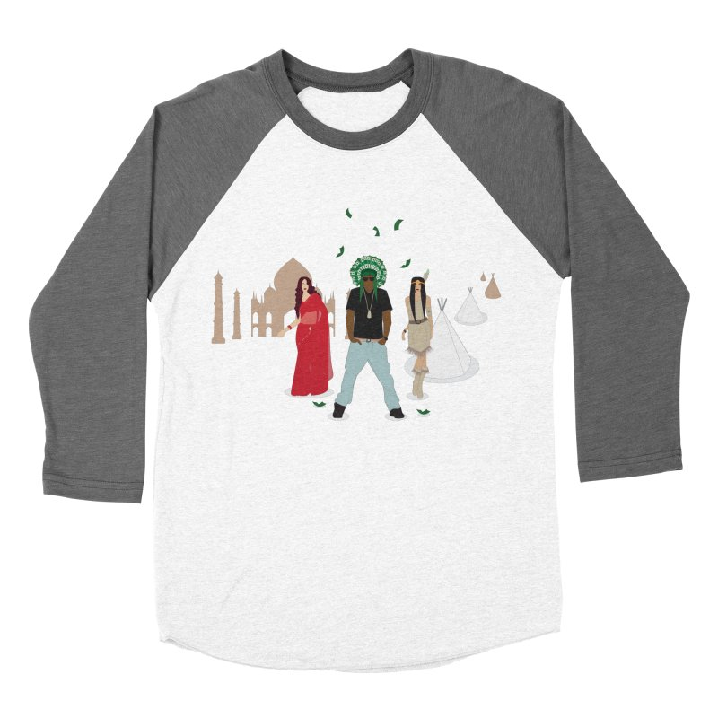 Chief Lots of Dough Women's Baseball Triblend T-Shirt by Buckeen